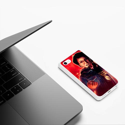 Чехол для iPhone 5/5S матовый Red Фото 01
