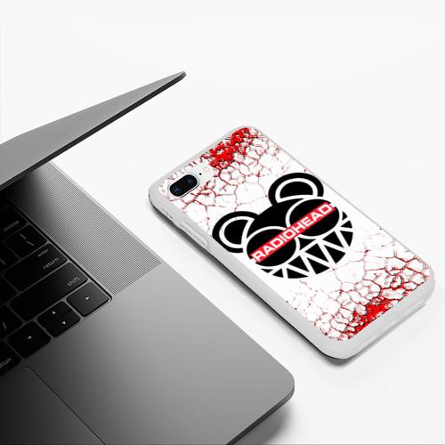 Чехол для iPhone 7Plus/8 Plus матовый radiohead. Фото 01