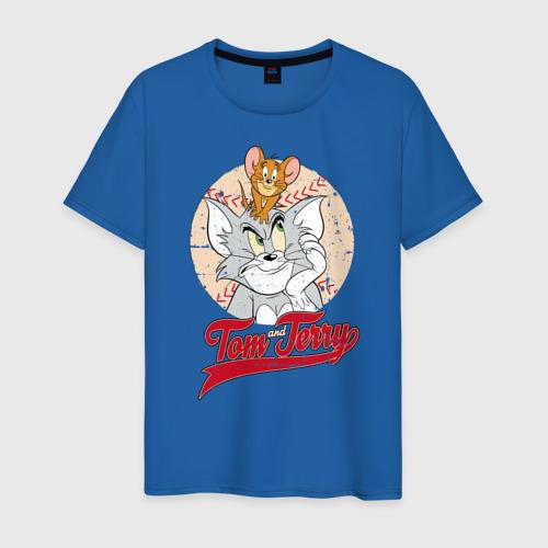 Мужская футболка хлопок Tom and Jerry Фото 01