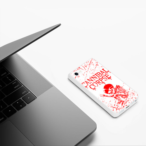 Чехол для iPhone 5/5S матовый cannibal corpse Фото 01