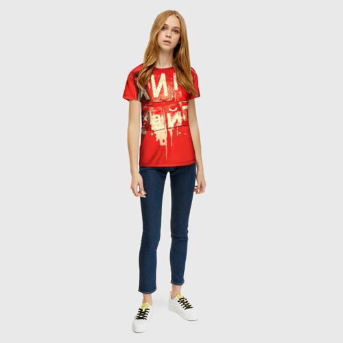 Женская футболка 3D ХИПХАЙП Фото 01