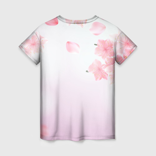 Женская футболка 3D САКУРА АХЕГАО   SAKURA AHEGAO Фото 01