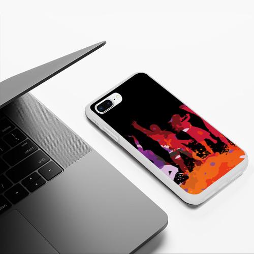 Чехол для iPhone 7Plus/8 Plus матовый Танцы Фото 01