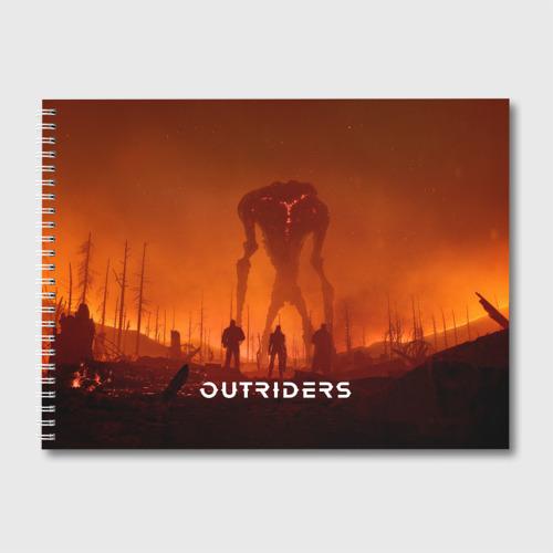 Альбом для рисования Outriders Фото 01