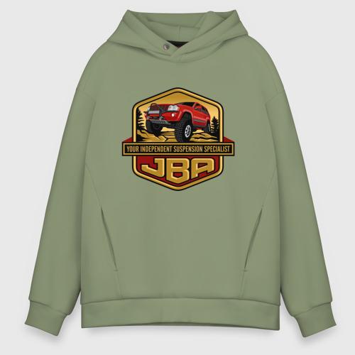 Мужское худи Oversize хлопок Jeep JBA Фото 01