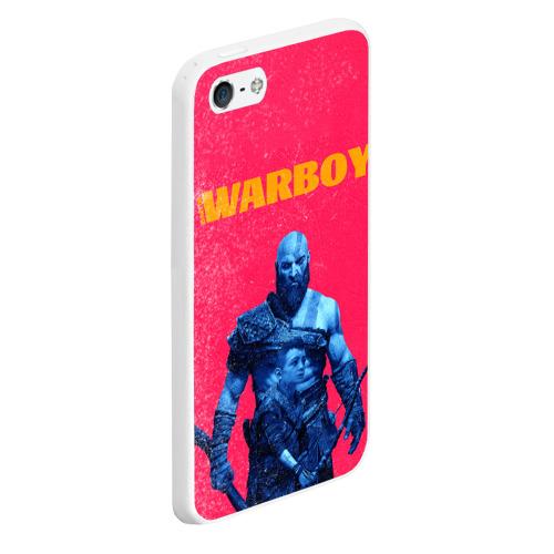 Чехол для iPhone 5/5S матовый Warboy Фото 01
