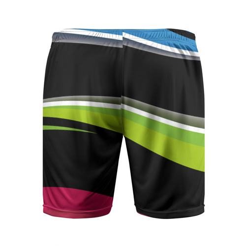 Мужские шорты спортивные Волны Фото 01