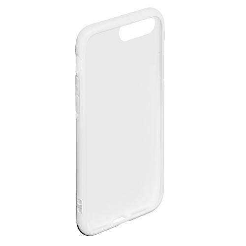 Чехол для iPhone 7Plus/8 Plus матовый Огненный череп Фото 01