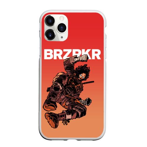 Чехол для iPhone 11 Pro Max матовый BRZRKR Фото 01