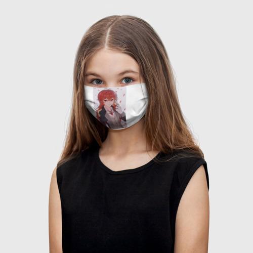 Детская маска (+5 фильтров) Милый Дилюк Фото 01