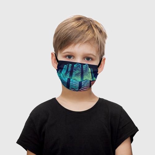Детская маска (+5 фильтров) Минимализм Фото 01