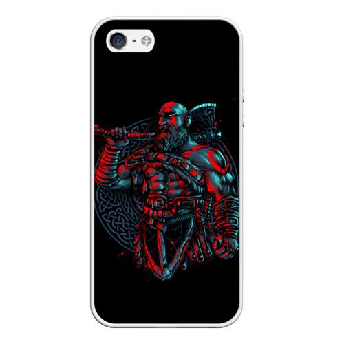 Чехол для iPhone 5/5S матовый Brutal Kratos Фото 01