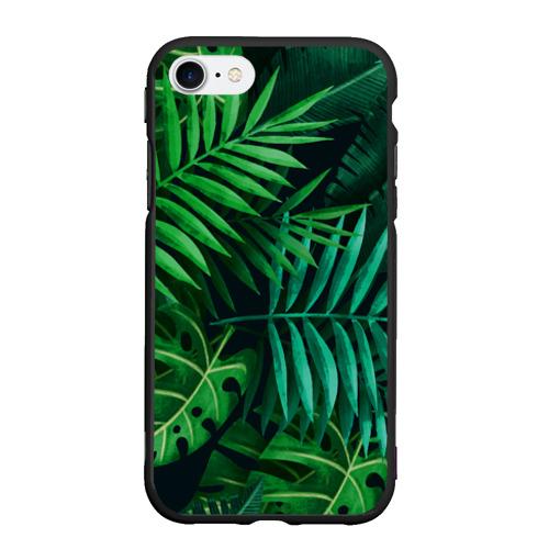 Чехол для iPhone 7/8 матовый Сочные тропики Фото 01