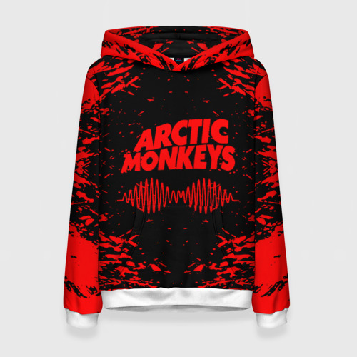 Женская толстовка 3D arctic monkeys Фото 01