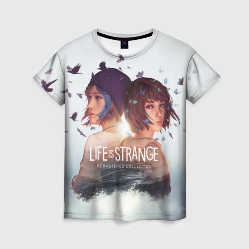 Женская футболка 3D Life is strange Remaster  Фото 01