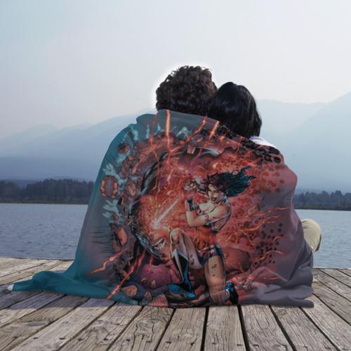 Плед 3D Чудо-женщина VS Дарксайд Фото 01
