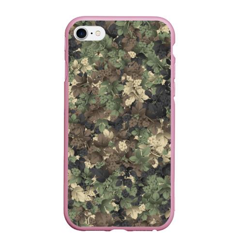Чехол для iPhone 6Plus/6S Plus матовый Хмельной камуфляж Фото 01