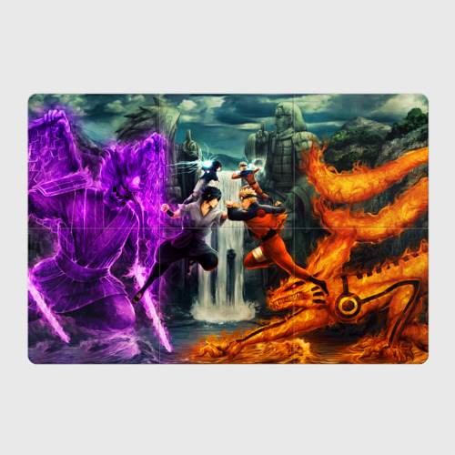 Магнитный плакат 3Х2 NARUTO & SASKE FINAL BATTLE | ПОСЛЕДНЯЯ БИТВА Фото 01