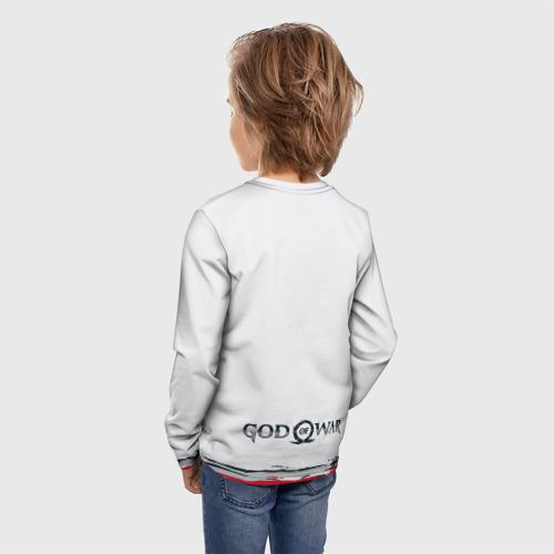 Детский лонгслив 3D На пути в Асгард | GOW Фото 01