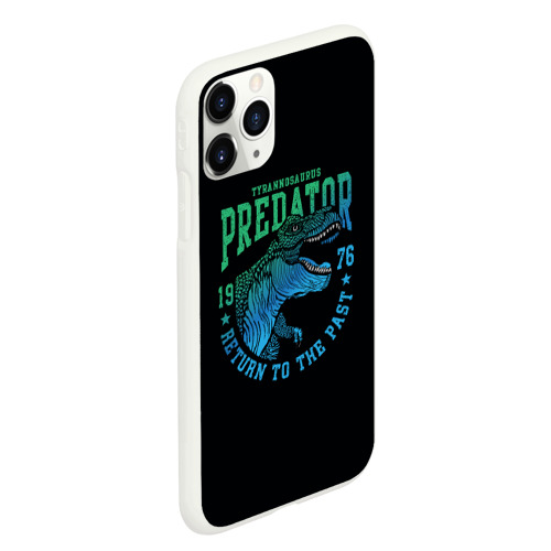 Чехол для iPhone 11 Pro Max матовый Dino predator Фото 01