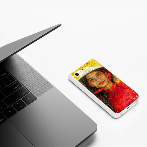 Чехол для iPhone 5/5S матовый Вьетнам Фото 01