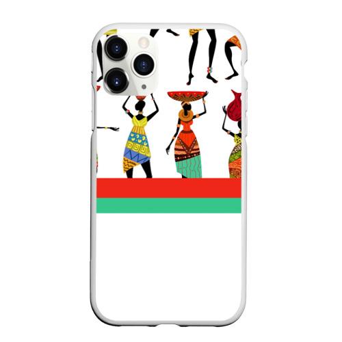 Чехол для iPhone 11 Pro матовый Девушки Фото 01