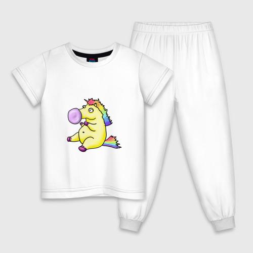 Детская пижама хлопок Радужный пони Фото 01