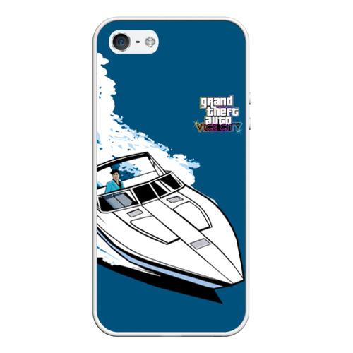 Чехол для iPhone 5/5S матовый Tommy on board  Фото 01