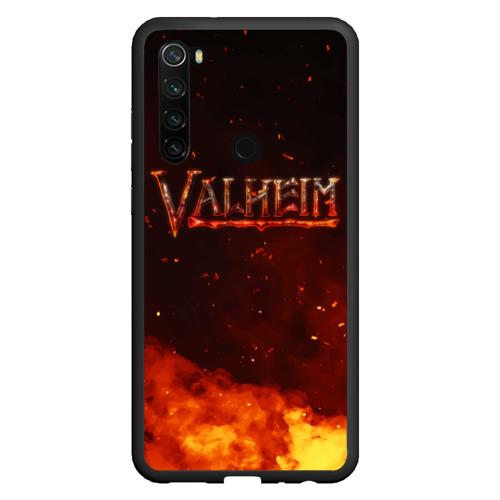 Чехол для Xiaomi Redmi Note 8 Valheim огненный лого Фото 01