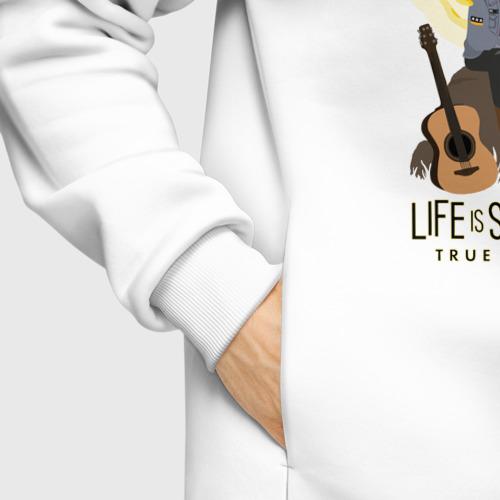 Мужское худи Oversize хлопок LIFE IS STRANGE:TRUE COLORS Фото 01