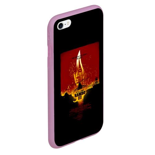 Чехол для iPhone 6Plus/6S Plus матовый РЭМБО Фото 01