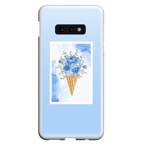 Чехол для Samsung S10E Цветочный холодок Фото 01