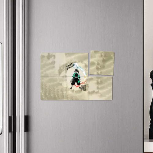 Магнитный плакат 3Х2 Tanjiro Kamado Kimetsu no Yaiba Фото 01