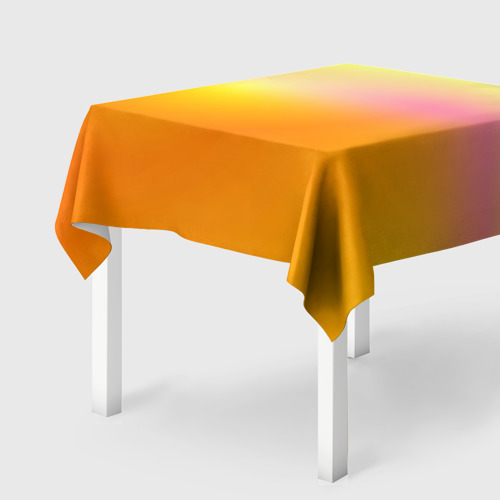 Скатерть 3D Желтый градиент Фото 01