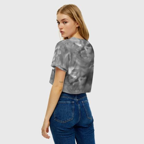 Женская футболка Crop-top 3D Русалка граффити Фото 01