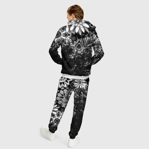Мужской костюм 3D Floral Pattern Фото 01