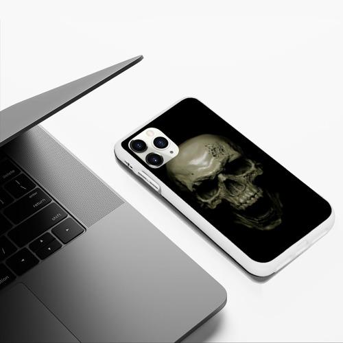 Чехол для iPhone 11 Pro Max матовый SKULL Фото 01