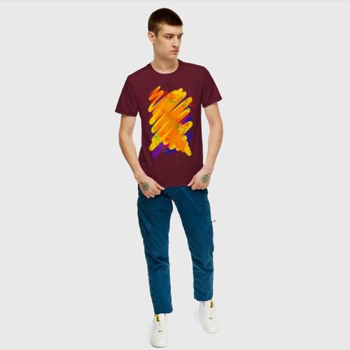 Мужская футболка хлопок Яркость красок  Фото 01