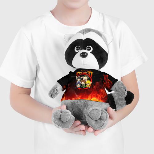 Игрушка Енотик в футболке 3D Клинок, рассекающий демонов Персонажи Фото 01