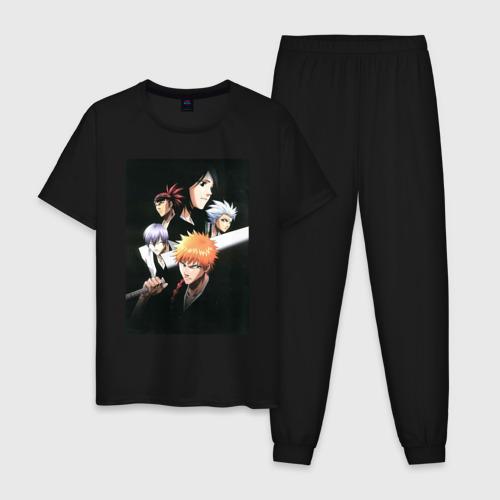 Мужская пижама хлопок Bleach | Блич Фото 01