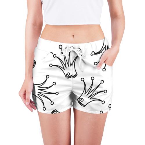 Женские шорты 3D короны Фото 01