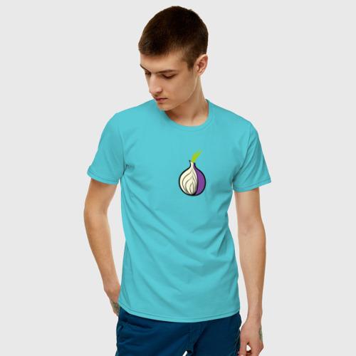Мужская футболка хлопок Tor Browser Фото 01
