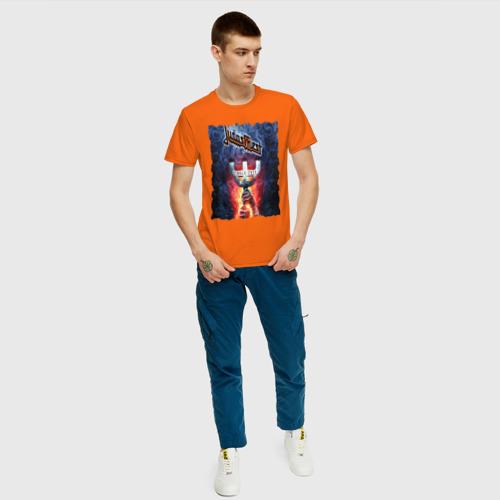 Мужская футболка хлопок JUDAS PRIEST РОК ГРУППА Фото 01
