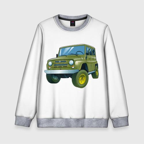 Детский свитшот 3D УАЗ 469 Фото 01