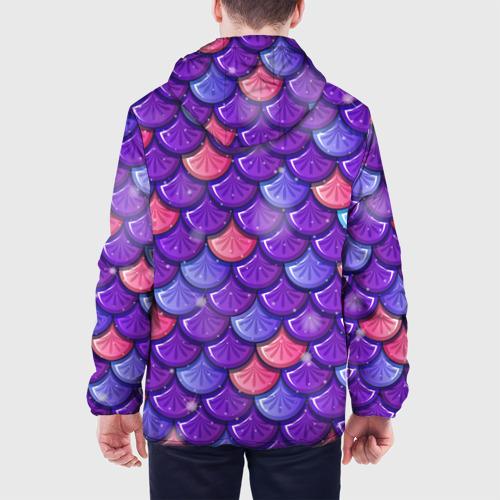 Мужская куртка 3D РУСАЛКА   ЧЕШУЯ Фото 01
