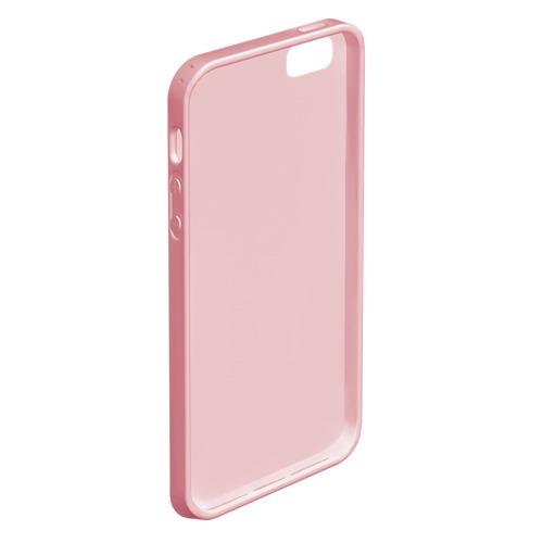 Чехол для iPhone 5/5S матовый Фламинго | Лето Фото 01
