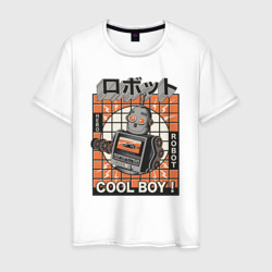 Ретро робот cool boy