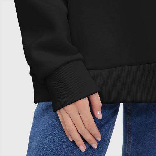 Женское худи Oversize хлопок ЯроSLAVE | Ярослав из Gachi Фото 01
