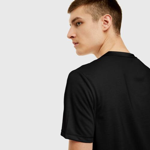 Мужская футболка 3D Nnever stop trying Фото 01