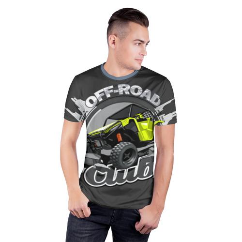 Мужская футболка 3D спортивная Внедорожный Фото 01